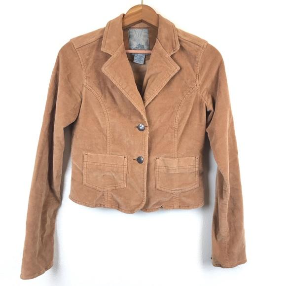 BB Dakota Jackets & Blazers - BB Dakota Tan Corduroy Jacket